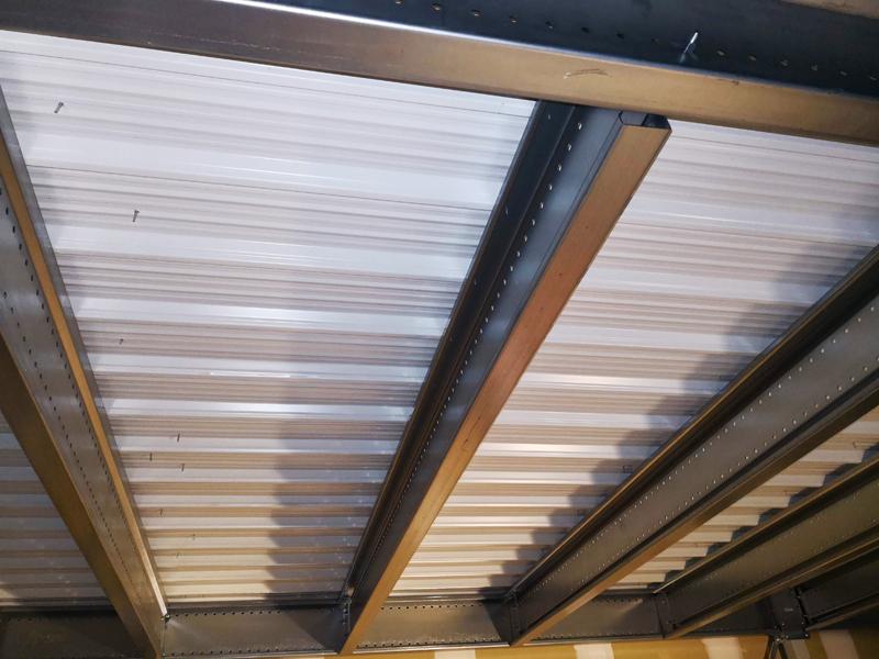 plancher mezzanine bac acier