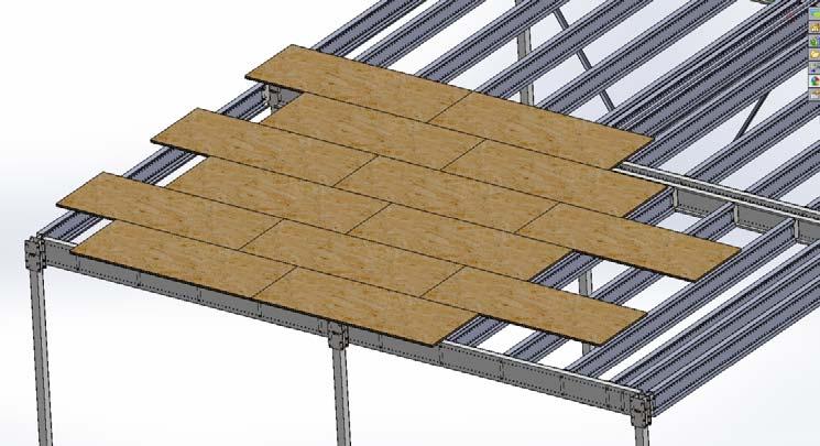 Plancher mezzanine industrielle id e for Peinture plancher bois